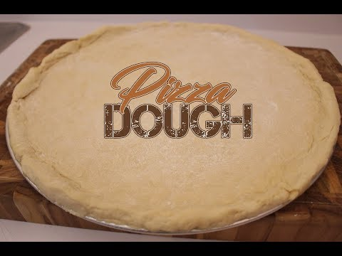 Pizza Dough - No Yeast Required