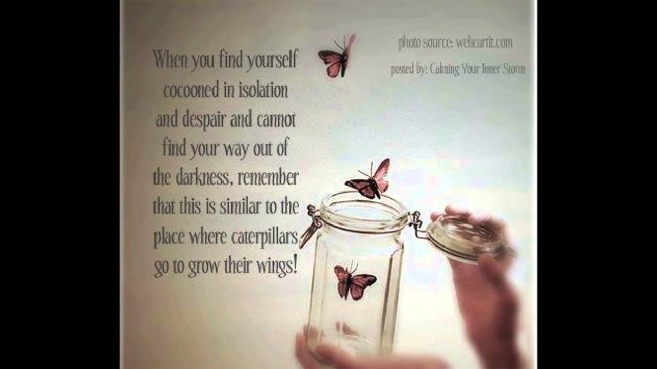 Positive Quotes About Love Interesting Inspirational Quotes Sent With Love Hope & Courage  Youtube
