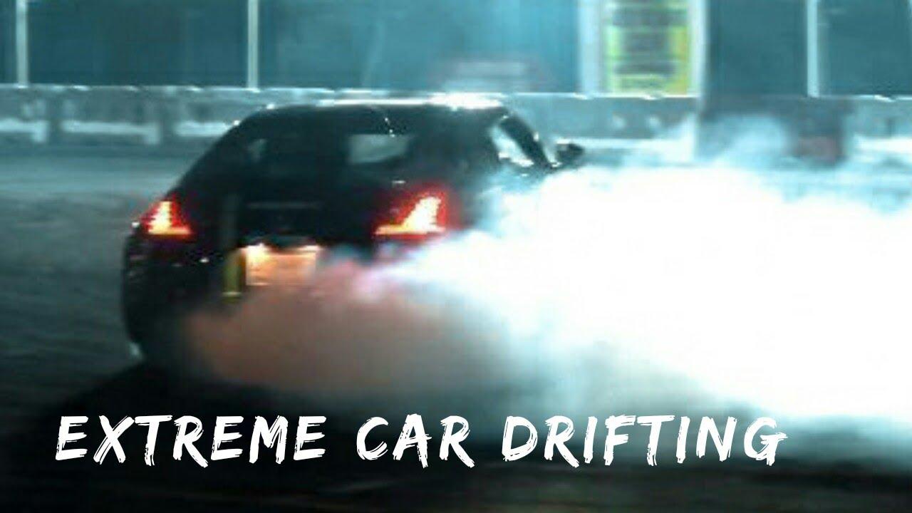Extreme Car drifting    Dubai International Motor show    Pure adrenaline rush