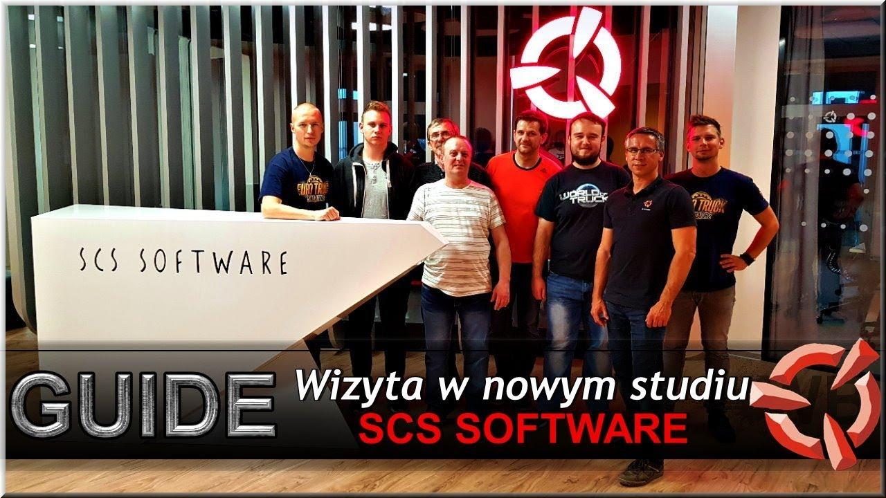 GUIDE | Wizyta w nowym studiu SCS Software