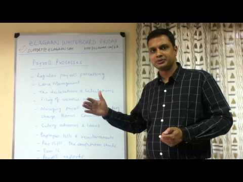 Payroll Processing for SMEs in India : Different Components