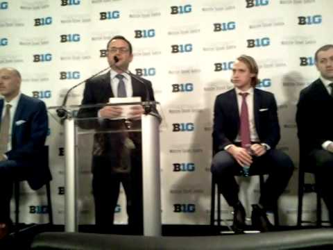 Jim Delaney announces B1G-MSG partnership