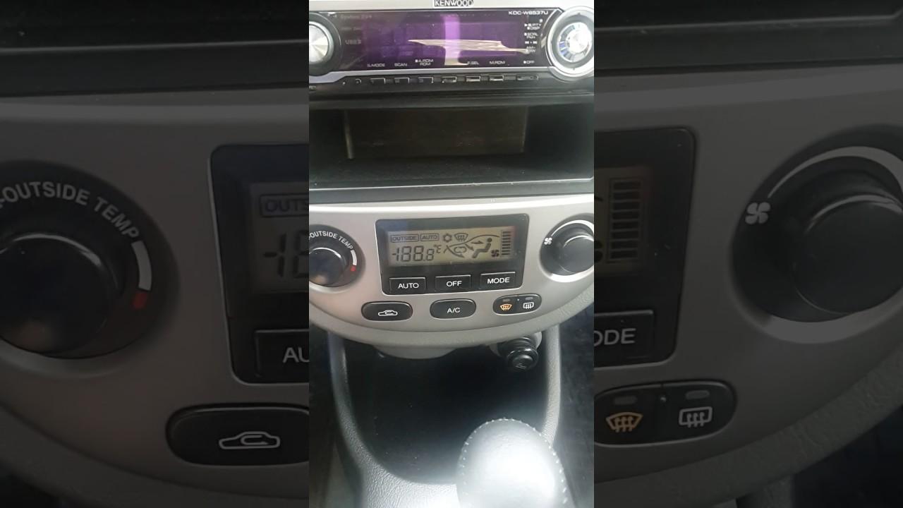 Все очень просто!!!! Daewoo Gentra  Chevrolet Lacetti - Диагностика климат-контролякондиционера