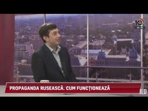 Costin Andrieș la 10TV - Despre propaganda rusă în România și Republica Moldova