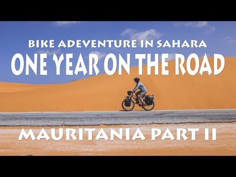 One year of travelling! Bike tour Mauritania