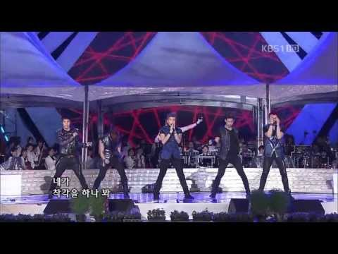HD 2PM  Hands Up + Ill Be Back  KBS Open Concert 110918