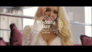 Красивая невеста - Регистрация на берегу моря Backstage Wedding Day (Minsk 2016)