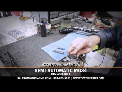 MG34 SEMI-AUTO RECEIVER CAM ASSEMBLY - YouTube