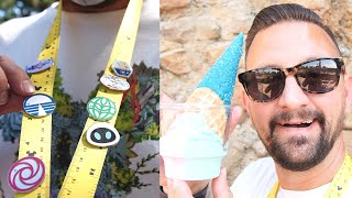 Trying New Sweet Treats At Disney's Animal Kingdom, Pin Trading Fun & A Lost Wedding Ring!