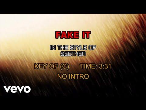 Seether - Fake It (Karaoke)