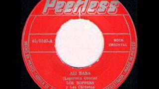 LOS BOPPERS   ALI BABA   PEERLESS 45 5140 A