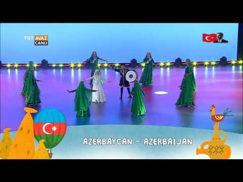 Azerbaycan - 23 Nisan 2017 Çocuk Şenliği Gösterisi - TRT Avaz