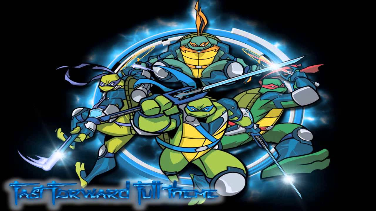 Tmnt Fast Forward Full Opening Theme Song Extended Remix Youtube