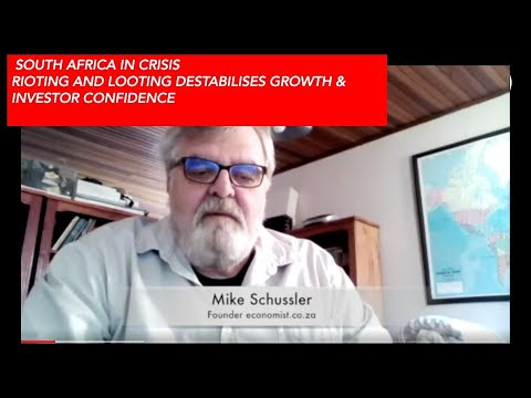 South Africa in Crisis -  Renowned Economist Mike Schussler is in the C-SUITE