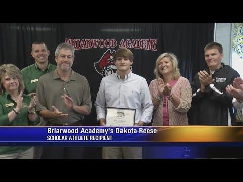 Scholar Athlete: Briarwood Academy's Dakota Reese