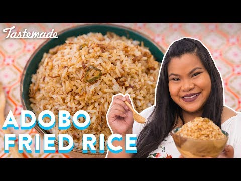 Filipino Adobo Fried Rice | Good Times With Jen