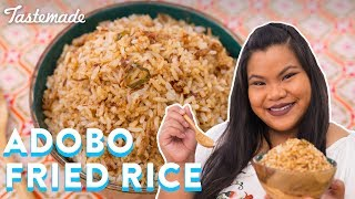 Filipino Adobo Fried Rice  Good Times With Jen