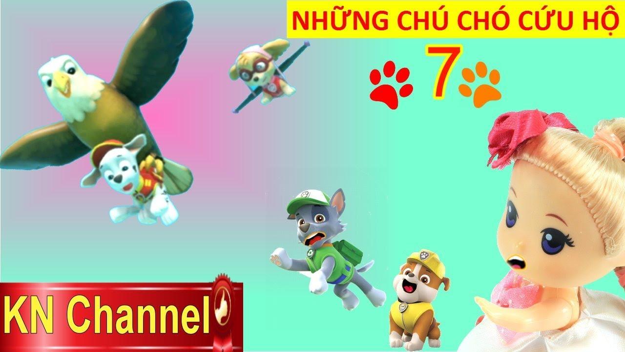 NHỮNG CHÚ CHÓ CỨU HỘ PAW PATROL Tập 7 CHIM ĐẠI BÀNG ĐỤNG VÁCH NÚI BỊ THƯƠNG | TRÒ CHƠI KN Channel