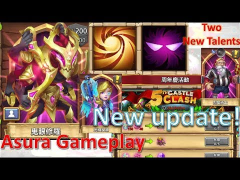 Castle Clash New Update July 18 - New Hero Gameplay, New Talent