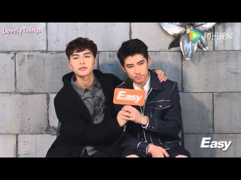 [Eng Sub] 160318 Easy Q&A and BTS - Lin Fengsong & Chen Wen