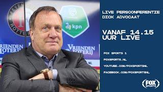 Persconferentie Dick Advocaat