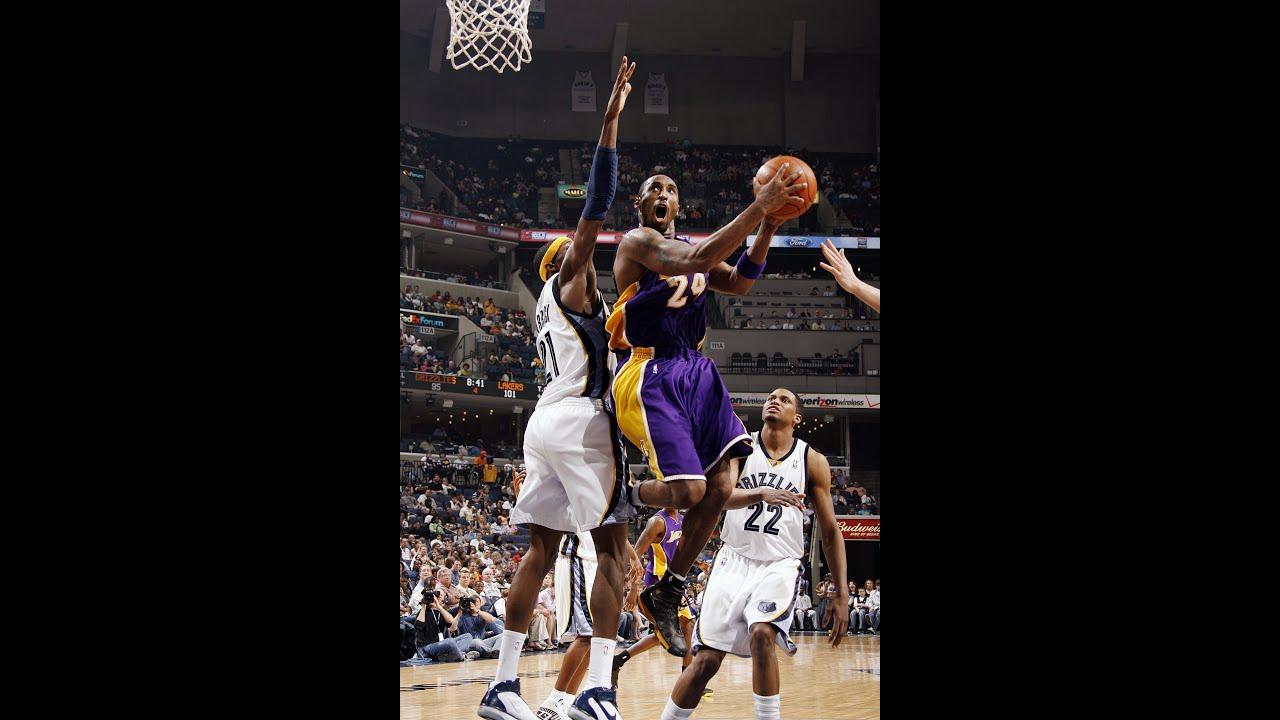 Kobe Bryant S Top 10 Plays Of 2007 2008 Nba Season Youtube
