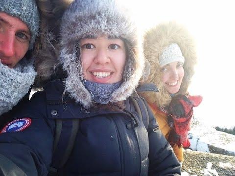 Astana E33: Borovoe during winter