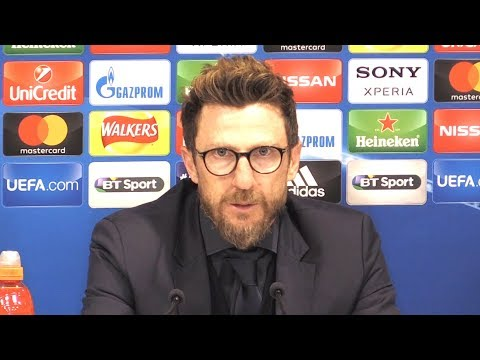 Liverpool 5-2 Roma - Eusebio Di Francesco Post Match Press Conference - Champions League Semi-Final