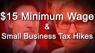 Episode 5 - $15 Minimum Wage & Small Business Tax Hikes