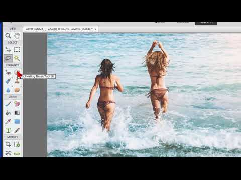 Remove People Or Objects From Photos With Photoshop Elements