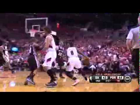 Portland Trail Blazers vs San Antonio Spurs Game 4 Highlights - NBA Playoffs 2014