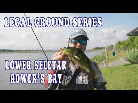 Legal Fishing Ground Series EP4: Lower Seletar Rower's Bay Park