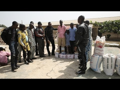 EAGLES MOTORCYCLE CLUB - TRIP TO BORSTAL HOME ILORIN