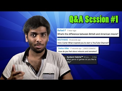 Q&A Session #1 - What's My Favourite Movie?