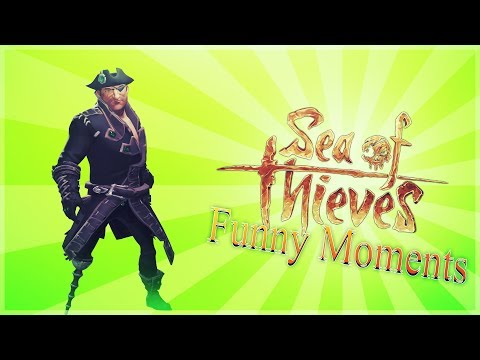 Sea Of Thieves - YAARG -  Shark Attacks - Cannon Fun - Comedy Gaming