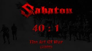 Sabaton - 40 : 1 (Lyrics English & Deutsch)