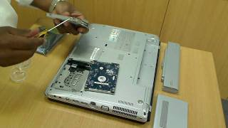 How to install new Hard Drive into Laptop
