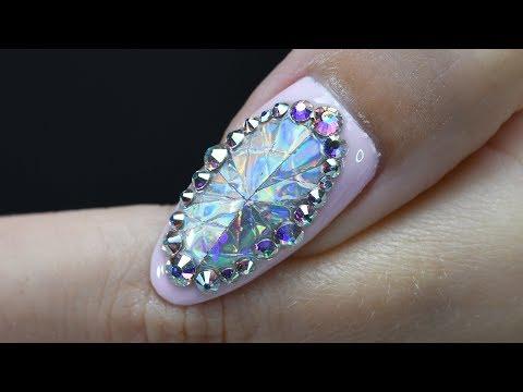 Handmade Diamond With Holographic Foil   Red Iguana   April Ryan