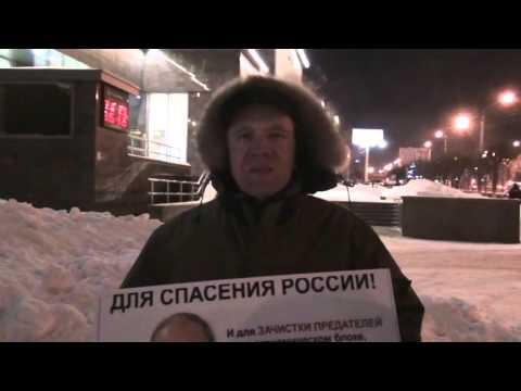 НОД Воронеж на пикете иностранных консалтинговых компаний и за расширение полномочий президента