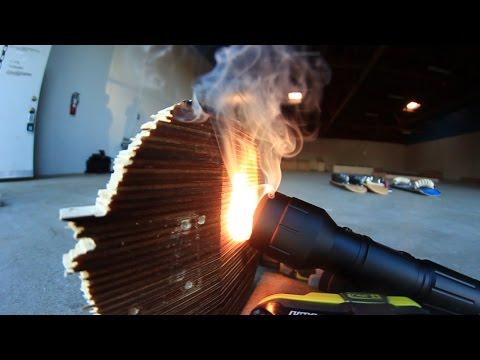 CAN THIS FLASHLIGHT BURN THROUGH A SKATEBOARD?