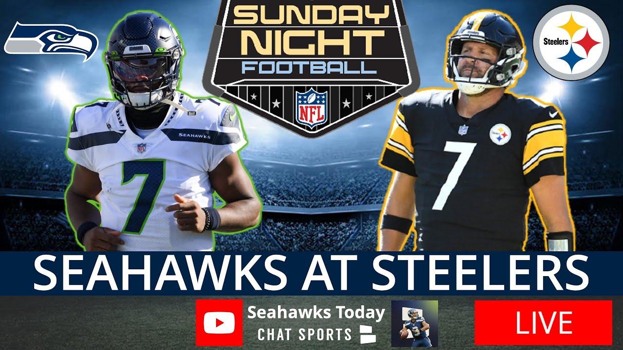 Live updates: Steelers host the Seahawks on 'Sunday Night Football'