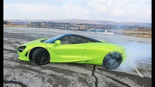 I Made My McLaren RIP INSANE BURNOUTS... Daily Driven Exotics is on Notice!!!