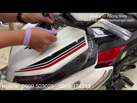 Dán keo xe Exciter 155 tại Hoàng Trí Racing Shop