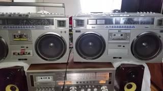 JVC RC-M70JW CASSETTE RADIO BOOMBOX VINTAGE