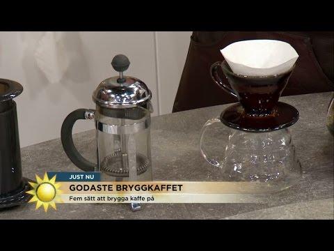 göra kaffe i presskanna