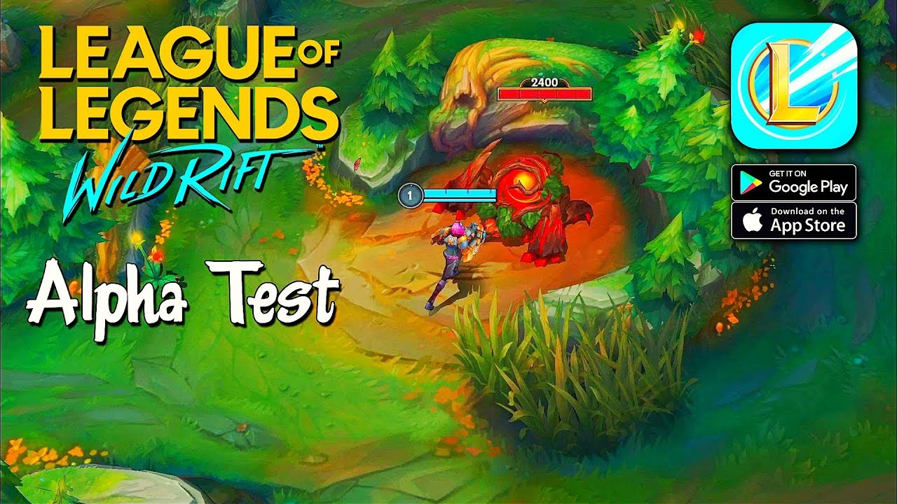 Alpha Test Is Coming League Of Legends Wild Rift Android Ios Youtube