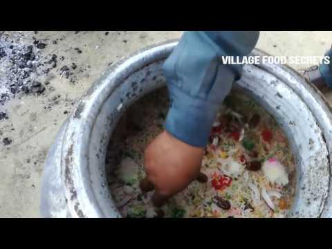 Cooking Special Sweet Dish in my Village | Zarda Mutanjan | Sweet Rice | Village Food Secrets