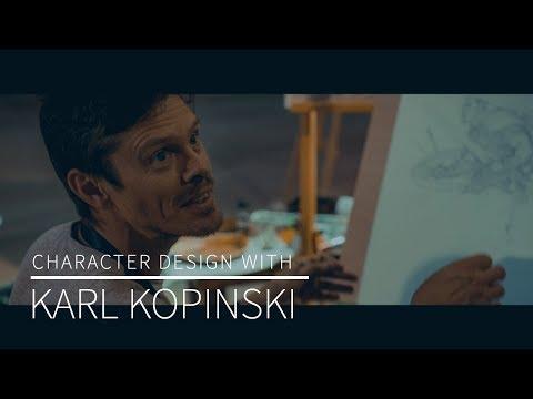 Character Design With Karl Kopinski