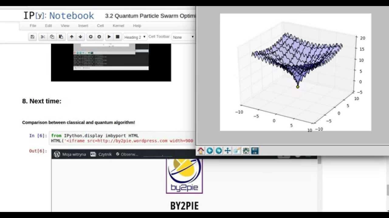 Project 3 2: Quantum Particle Swarm Optimization - Overview