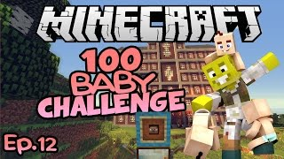 Holy Adventure Time!! | Minecraft 100 Baby Challenge Ep.12